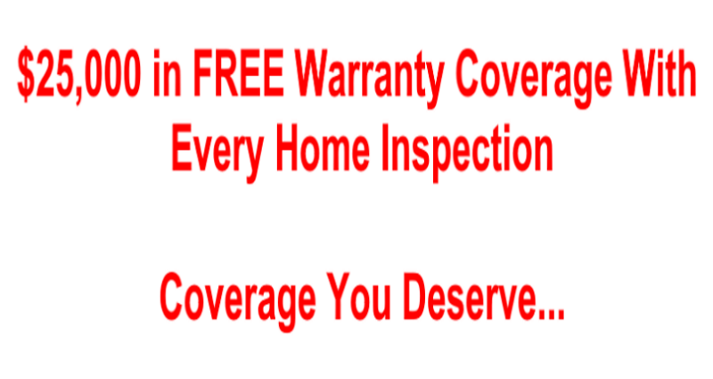 $25,000+ in Warranty Coverage with your All Pro Home Inspection